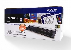Brother TN-240BK Standard Yield Toner 標準碳粉盒 - 黑色
