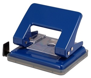 Carl 100XL 2-Hole Punch (Blue) 雙孔打孔機 (藍)