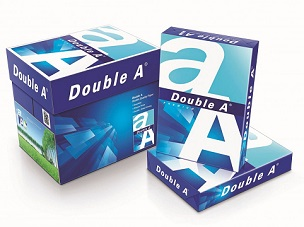 Double A  Copy Paper 影印紙 A4 80gsm (5 ream/Box)