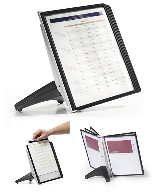 Durable 5540 SHERPA®SOHO Display Panel Stand 陳列展示架 A4 - 5屏