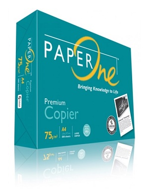 PaperOne  Copy Paper 影印紙 A4 75 gsm ( 5ream/box)