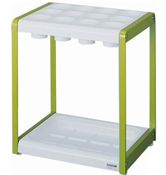 Yamasaki 山崎 YA-52L-ID-G 12-slot Umbrella Rack (Made in Japan) - Green 12格雨傘架 (日本製造) - 綠