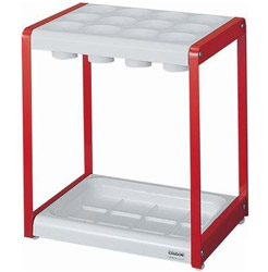 Yamasaki 山崎 YA-52L-ID-R 12-slot Umbrella Rack (Made in Japan) - Red 12格雨傘架 (日本製造) - 紅