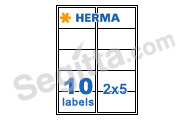 Herma 4268 3合1白色標籤99.1x57.0mm(100張裝) SuperPrint White Label 99.1 x 57.0mm (100sh)