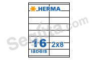 Herma 4427 3合1白色標籤105x35mm(100張裝) SuperPrint White Label 105x35mm(100sh)
