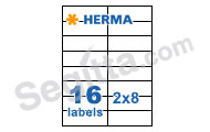 Herma 4462 3合1白色標籤105x37mm(100張裝) SuperPrint White Label 105x37mm(100sh)