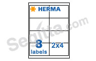 Herma 4817 白色特別噴墨標籤96.5x67.7mm InkPrint Special White Label 96.5x67.7mm