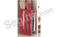 �饻�]�p�֥����ʬ[, ��/�¦� (�з�) Japan Design Umbrella Rack, Red (Standard)